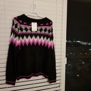 ANTHROPOLOGIE brand John +Jhen sweater NWT